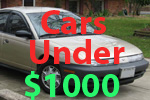 Used Cars Under 1000 Dollars For Sale A Buy Cheap Car Less Than 1000