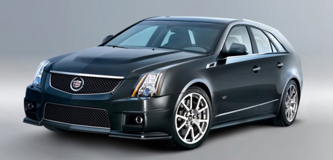 2011 Cadillac CTS Sport Wagon Nice view