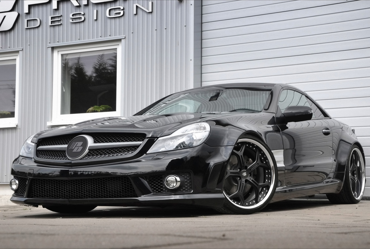 2010 prior design mercedes benz sl r230 pd series review for Mercedes benz sl r230