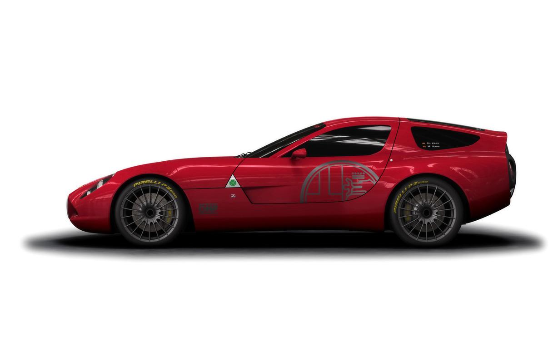 2011 Zagato Alfa Romeo TZ3 Corsa