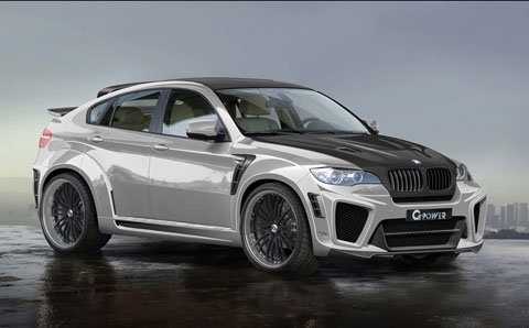 G-Power BMW X6 Typhoon RS Ultimate 480