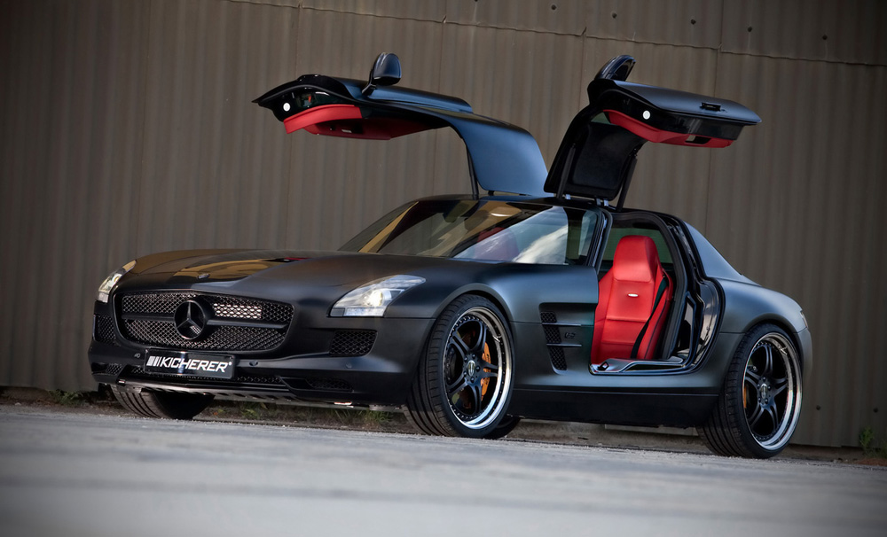 2010 kicherer mercedes benz sls supersport edition black specs for Mercedes benz sports cars