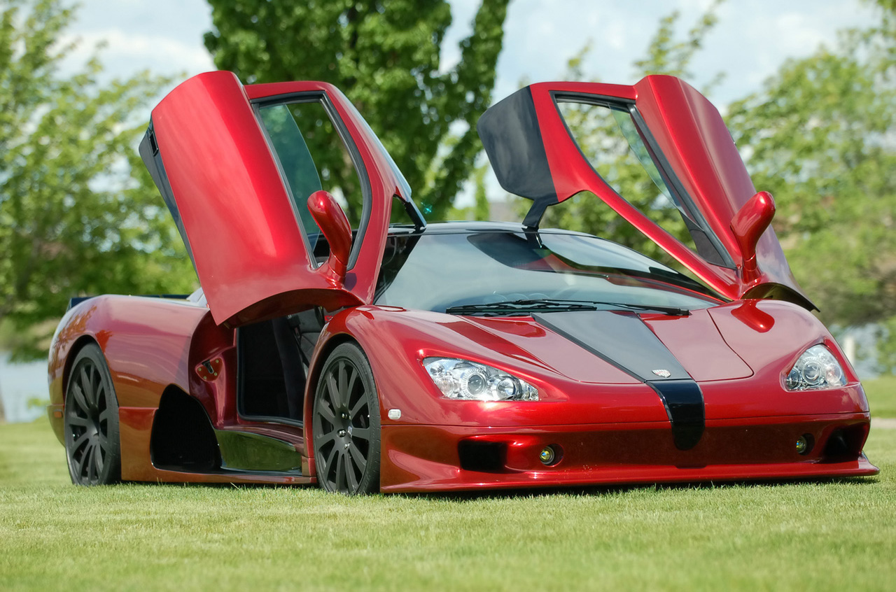 Above: SSC Ultimate Aero