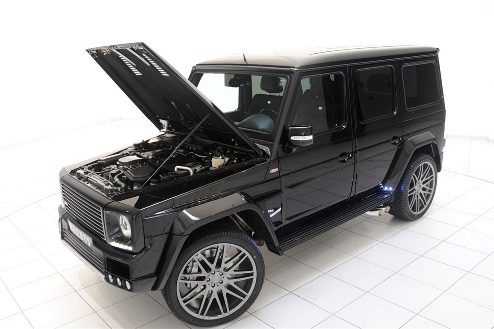 2011 brabus mercedes benz g class 800 widestar pictures for Mercedes benz g class brabus