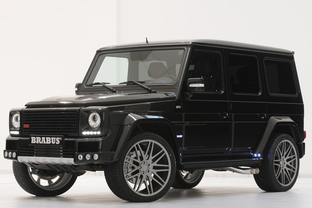 World Cars Of You 2011 Brabus Mercedes Benz G Class 800