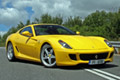 Yellow Ferrari