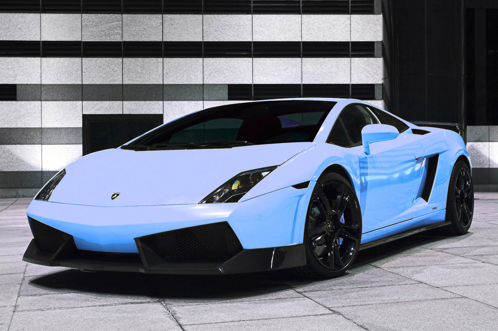 Blue Lamborghini Gallardo GT600 Amazing Ideas