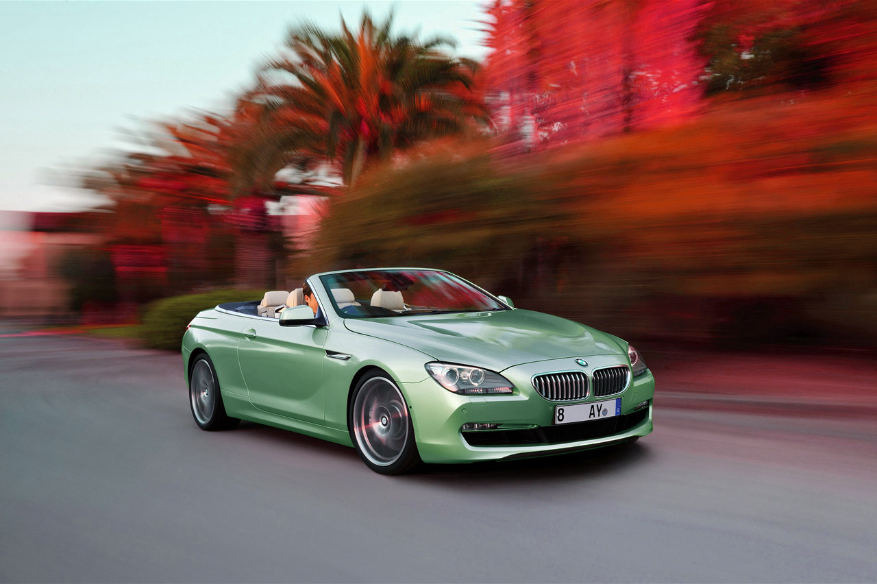 Green BMW Cars