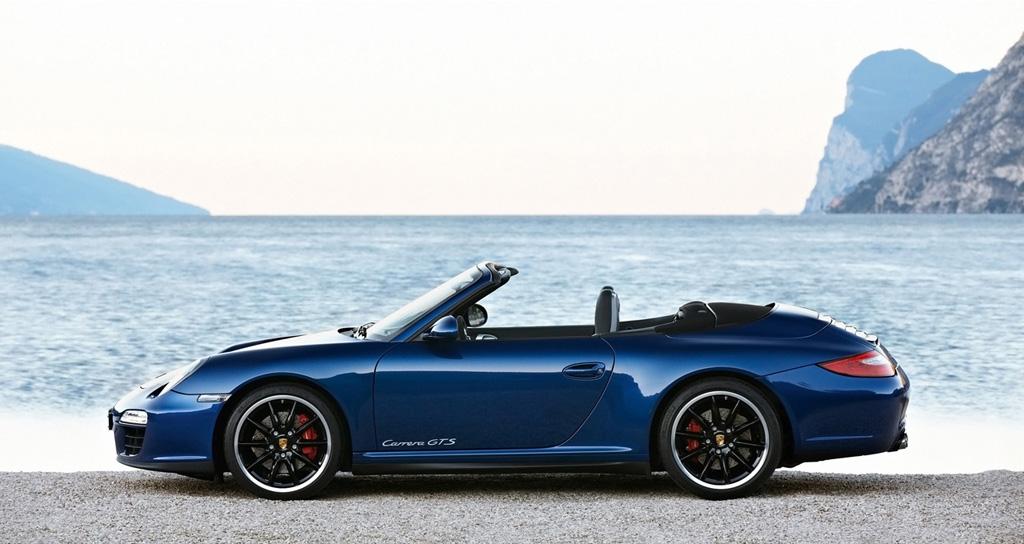 Porsche Cars Blue Blue Porsche 911 Gts