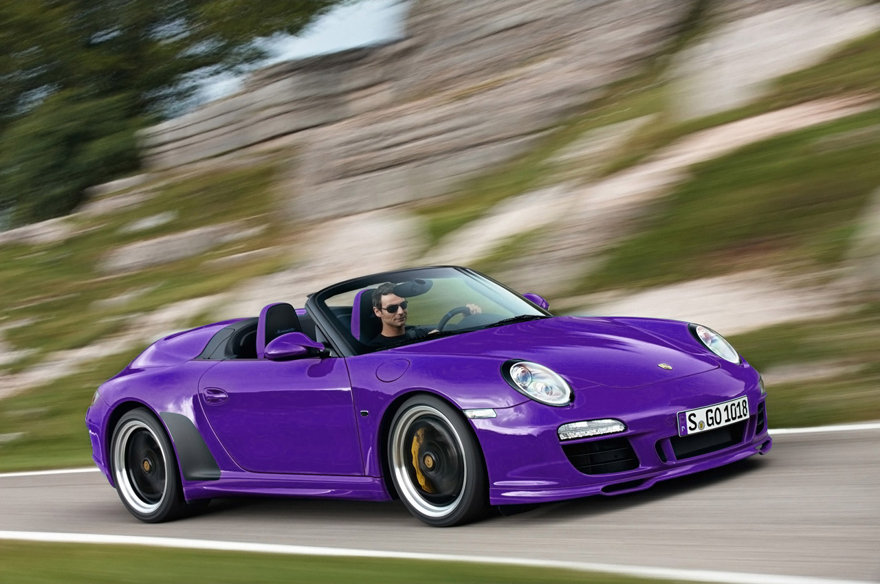 purple porsche car pictures images super cool purple. Black Bedroom Furniture Sets. Home Design Ideas