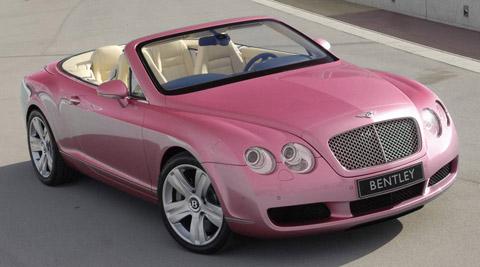 Pink Bentley Car Pictures Images Super Cool Pink Bentley