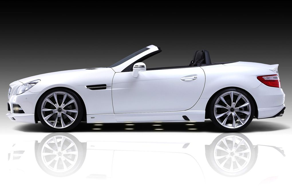 2011 piecha design mercedes benz slk r172 accurian rs for Mercedes benz slk brabus price