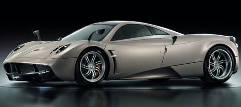 Pagani Huayra fastest cars in the world