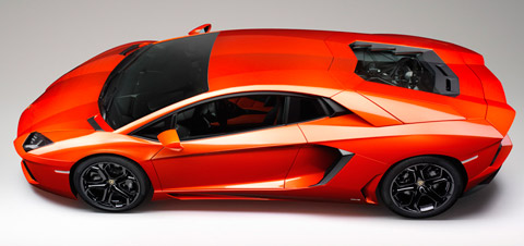 Lamborghini Aventador fastest cars in the world