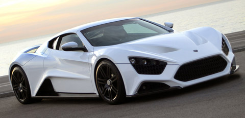 Zenvo ST1 fastest cars in the world