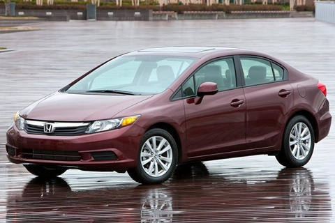 2012 honda civic review specs pictures price mpg. Black Bedroom Furniture Sets. Home Design Ideas