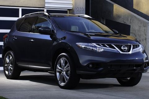 nissan murano price mpg review specs pictures