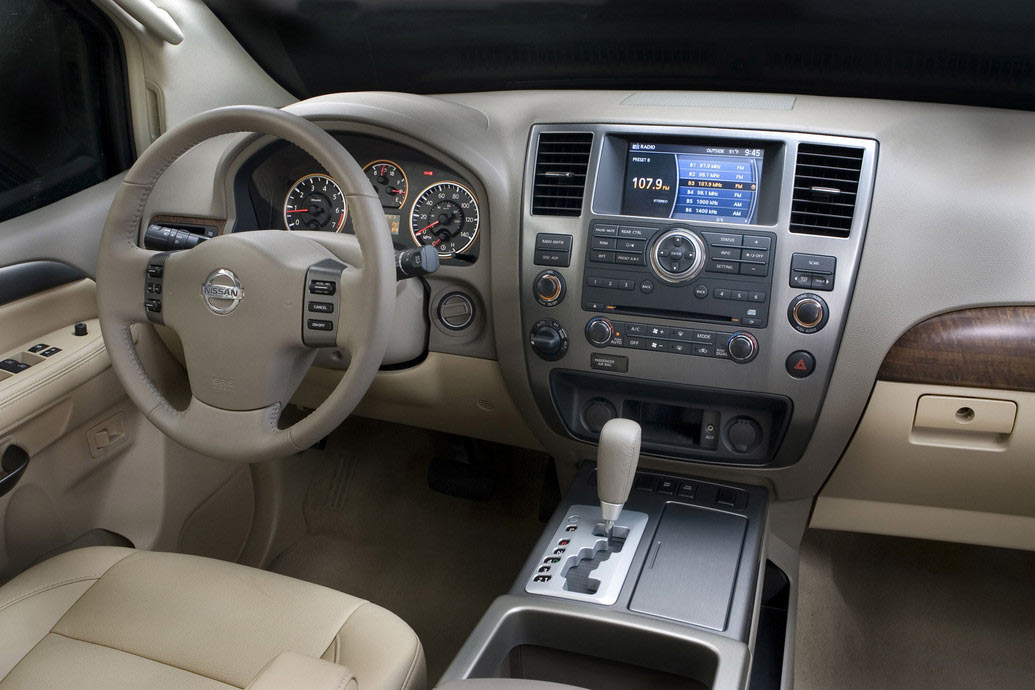 2011 Nissan Armada Price Mpg Review Specs Pictures