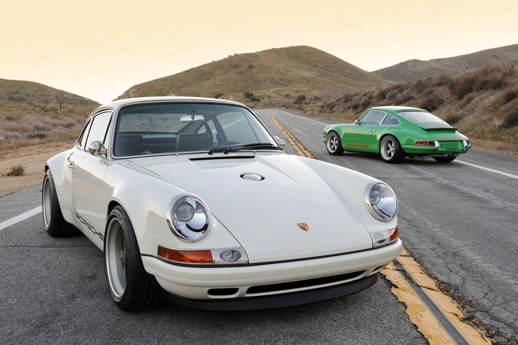 Worldcars 2011 Singer Porsche 911 White