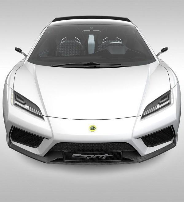 Lotus Esprit Wh Front Profile