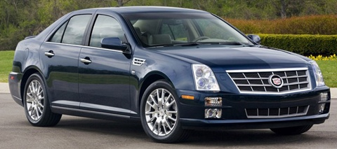 2011 cadillac sts price mpg review specs pictures. Black Bedroom Furniture Sets. Home Design Ideas