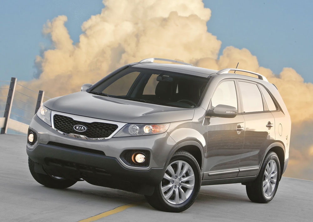 2011 kia sorento price mpg review specs pictures. Black Bedroom Furniture Sets. Home Design Ideas