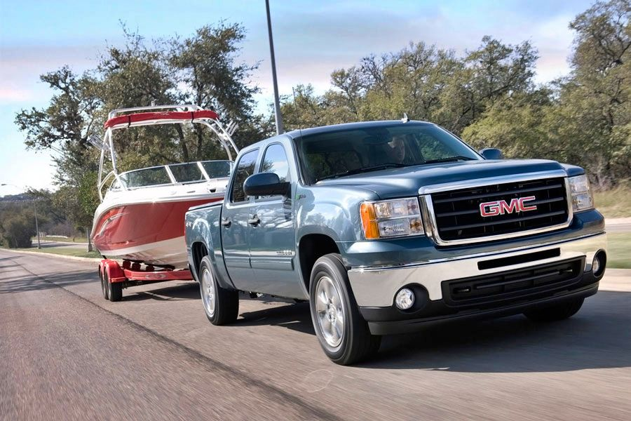 2011 gmc sierra 1500 hybrid review specs pictures price mpg. Black Bedroom Furniture Sets. Home Design Ideas