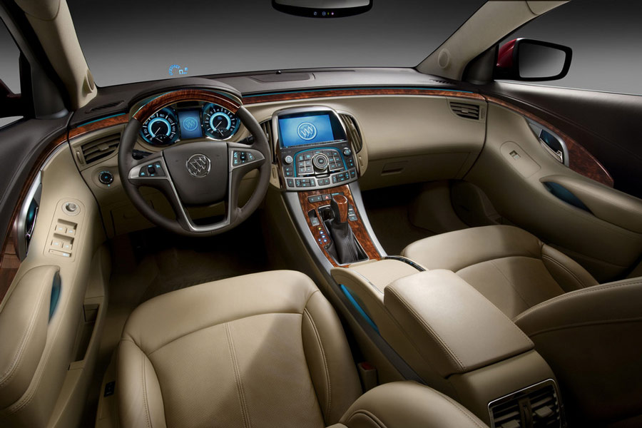 2012 Buick LaCrosse Review Specs Pictures Price  MPG
