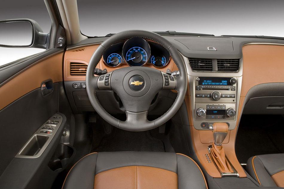 Chevrolet Malibu Interior Profile Steering Dash