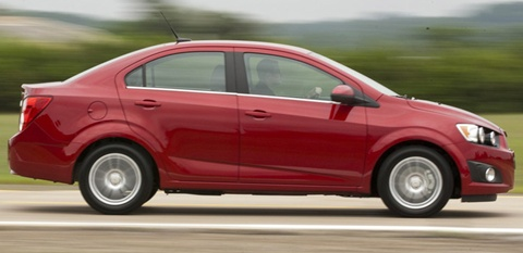2012 Chevrolet Sonic Review, Specs, Pictures, Price & MPG