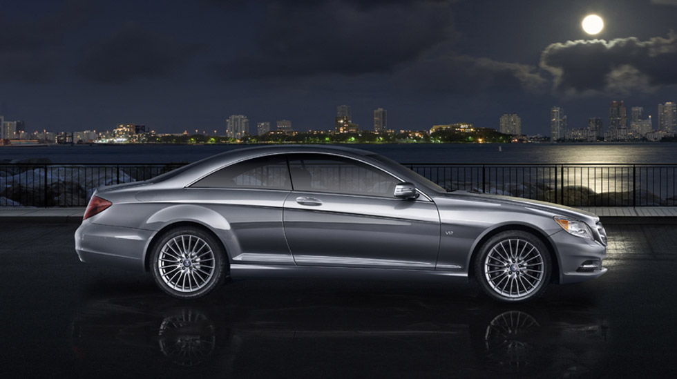 2010 mercedes benz cl class review specs pictures mpg for Mercedes benz cl600 price