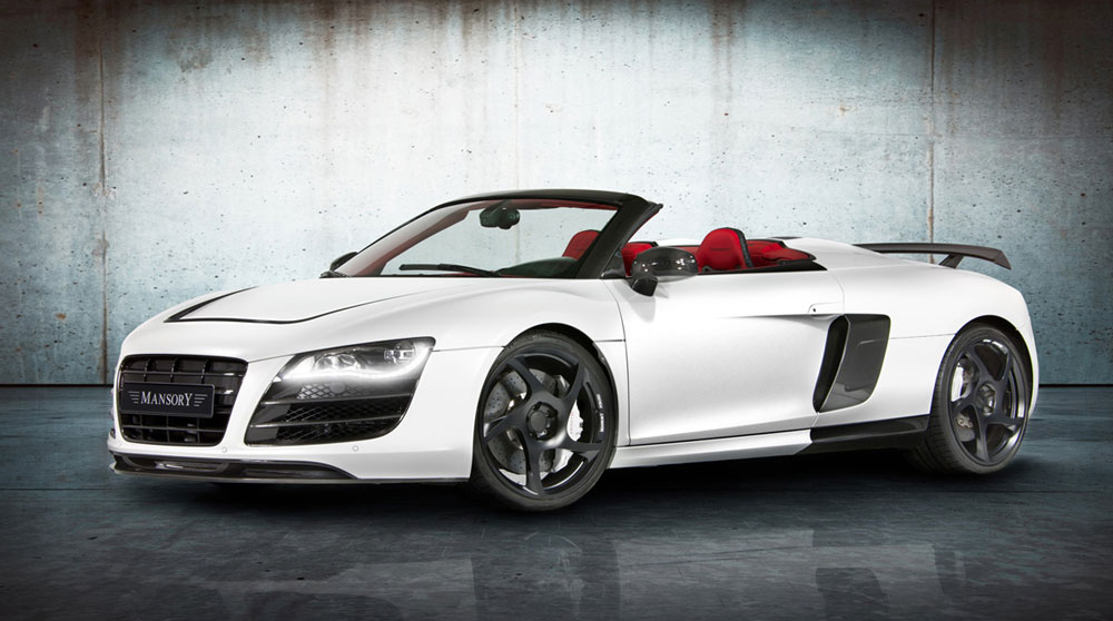 2012 mansory audi r8 spyder review pictures price top. Black Bedroom Furniture Sets. Home Design Ideas