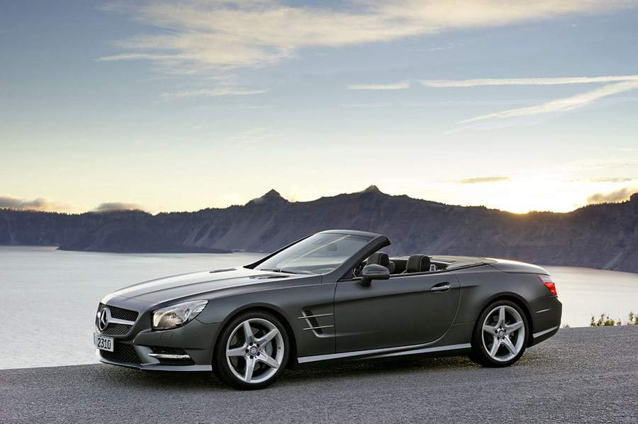 2012 mercedes benz sl500 review specs pictures price for Mercedes benz sl price