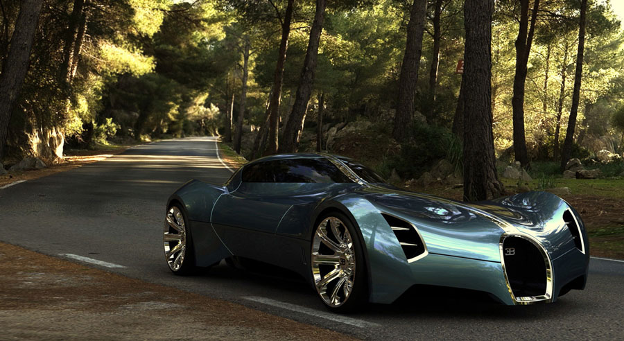 Bugatti aerolithe - photo#5