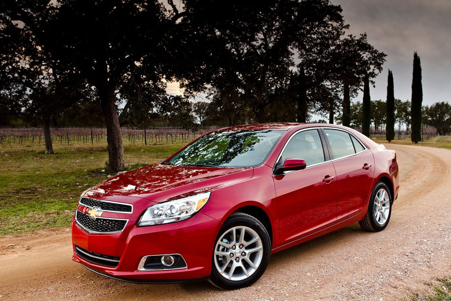 Chevrolet Malibu Eco Red Outdoor Profile on chevy 2013 chevrolet malibu eco engine