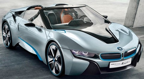 2012 BMW i8 Spyder Concept Review, Specs, Pictures & 0-60 Time
