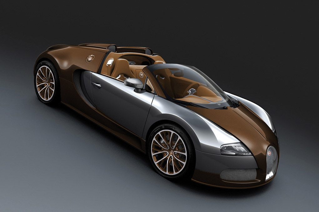 2012 bugatti veyron 16 4 grand sport brown carbon fiber
