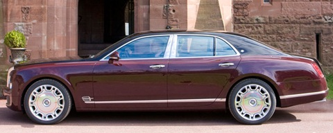 Bentley Mulsanne Royal on 2012 Bentley Mulsanne Diamond Jubilee Edition Side Profile 480