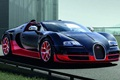 2012 Bugatti Veyron Grand Sport Vitesse Black and Red