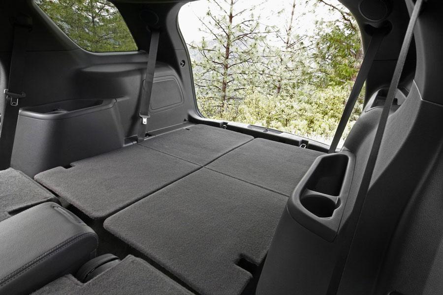 2012 ford explorer interior profile rear cargo with seats down 149 - 2013 Ford Explorer Interior 3rd Row