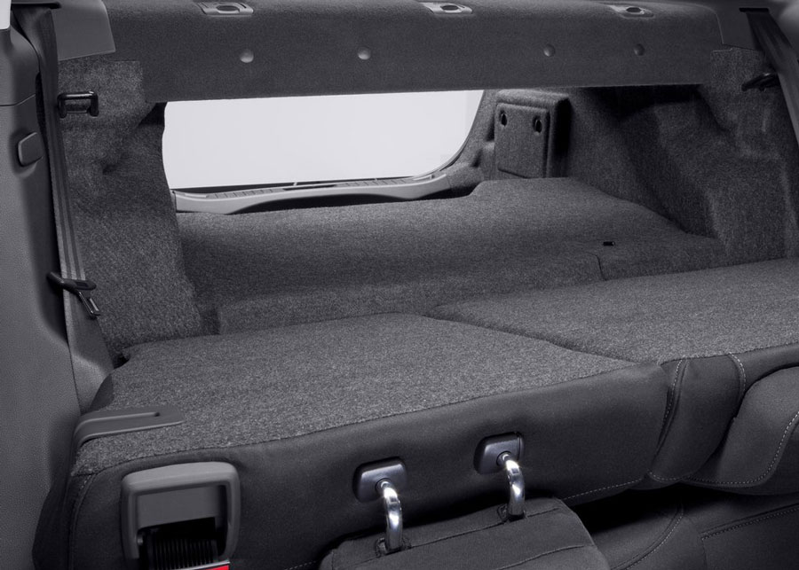Ford Fusion Cargo Space Dimensions