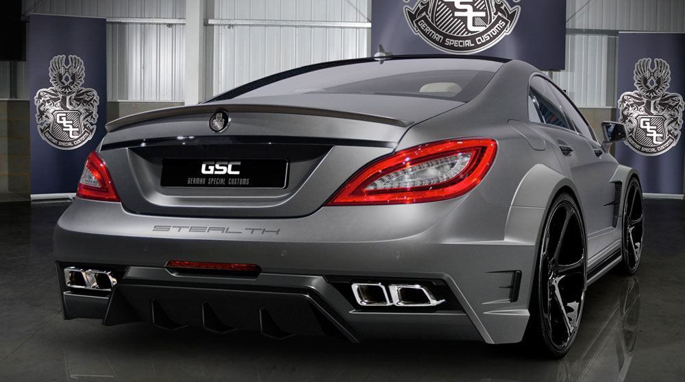 2012 gsc mercedes benz cls63 amg kit review pictures 0 for Mercedes benz amg kit