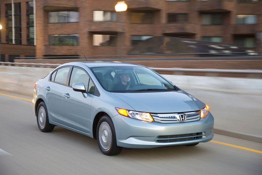 2012 honda civic hybrid review specs pictures price mpg. Black Bedroom Furniture Sets. Home Design Ideas