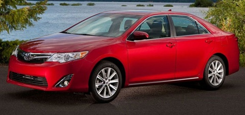 2012 toyota camry review specs pictures price mpg. Black Bedroom Furniture Sets. Home Design Ideas