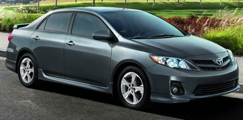 2012 toyota corolla review specs pictures price mpg. Black Bedroom Furniture Sets. Home Design Ideas