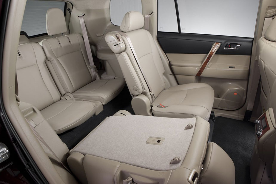 Toyota Highlander Rear Seating Profile on 05 Dodge Durango Mpg