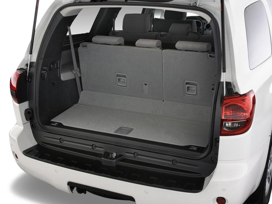 2012 toyota sequoia review specs pictures price mpg - Toyota sequoia interior dimensions ...