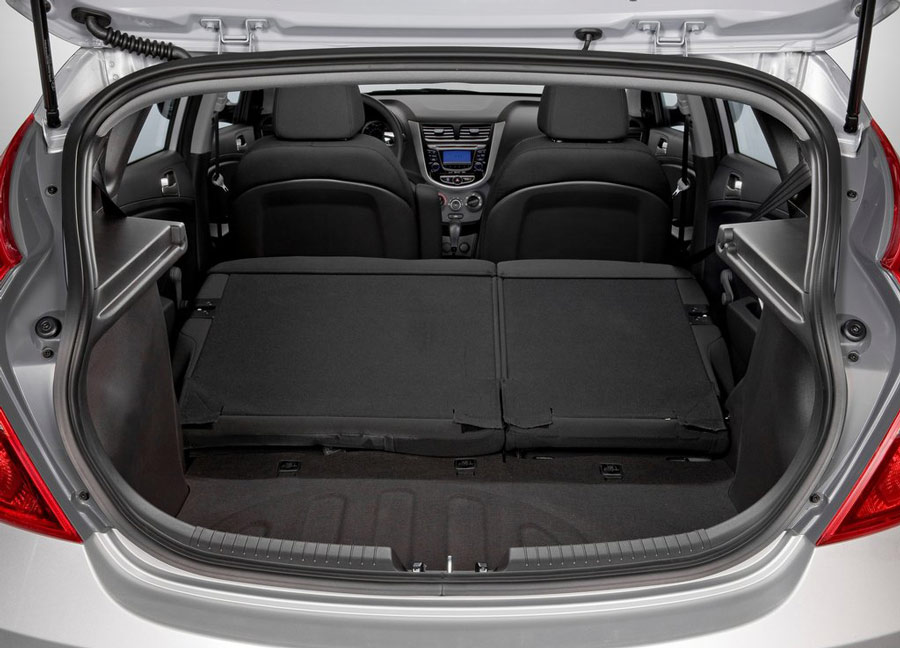 Hyundai accent trunk space  admissions guide