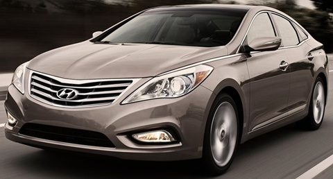 2012 Hyundai Azera Review Specs Pictures Price  MPG
