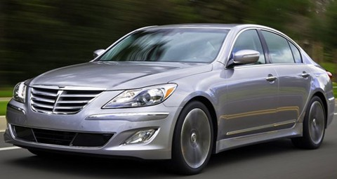 2012 hyundai genesis review specs pictures price mpg. Black Bedroom Furniture Sets. Home Design Ideas